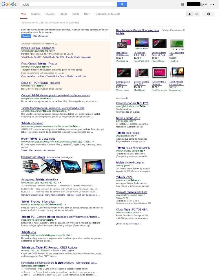 Resultados de búsqueda sin Google Plus