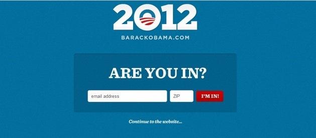 email marketing obama