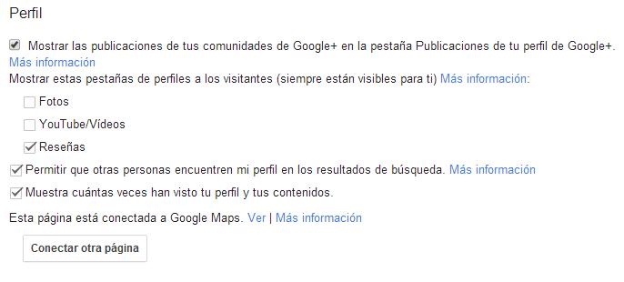conectar google plus