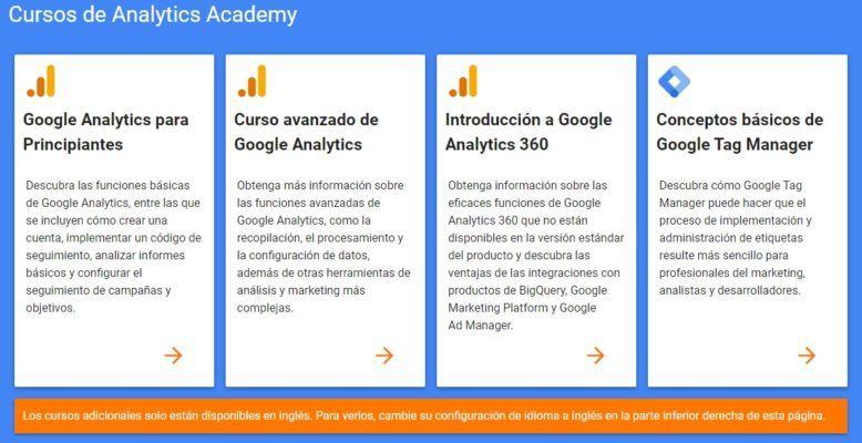 cursos google analytics academy ¿Conoces Google Analytics Academy y sus certificados?