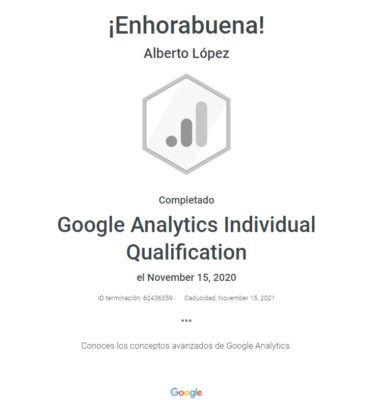 titulo google analytics ¿Conoces Google Analytics Academy y sus certificados?