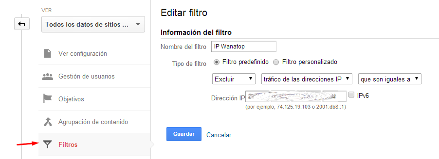 filtrar-ip-analytics
