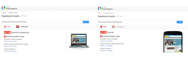 PageSpeed para SEo