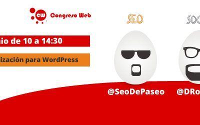 Taller de WordPress en Congreso Web 2015