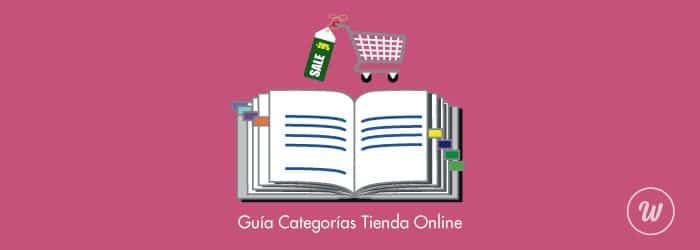 guia categorias tienda online