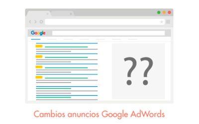 Cambios en anuncios de Google. ¿Cómo te pueden afectar?