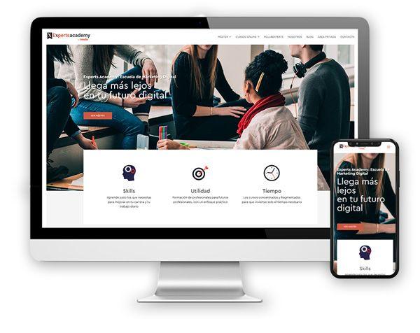 monitor Diseño Web