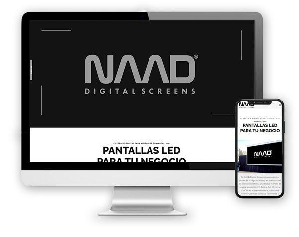 monitor naad Diseño Web