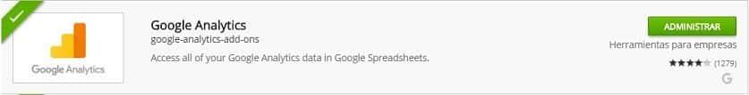 complemento analytics ¿Cómo crear un Dashboard SEO con Google Spreadsheets?