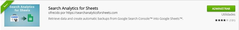 complemento search console ¿Cómo crear un Dashboard SEO con Google Spreadsheets?