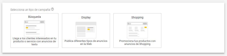 shopping inteligente paso 1 Qué son las campañas de Google Shopping Inteligentes