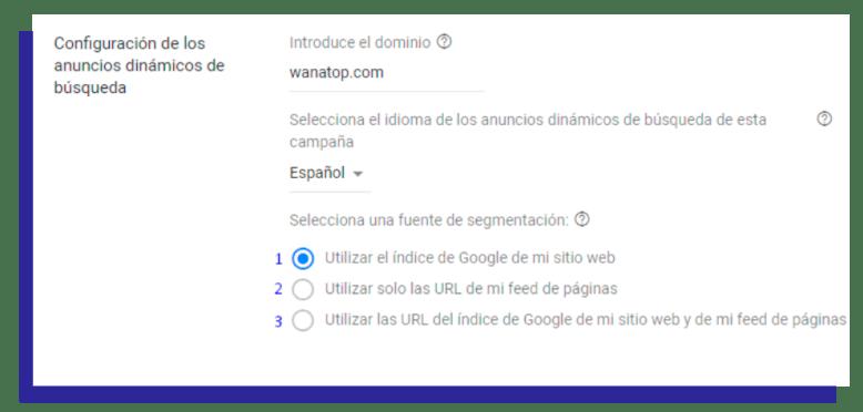 g1 Campañas DSA: cómo funcionan y por qué complementan tus campañas de Google.