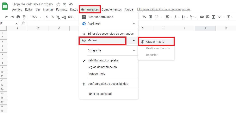 como hacer keyword research grabacion macro google sheets Keyword research: Guia para realizar tu propio estudio de palabras clave