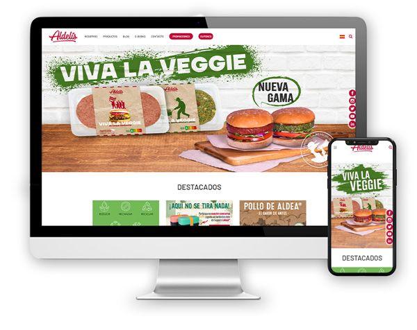 monitor aldelis Diseño Web