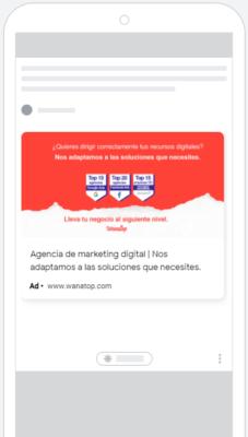 google discovery 1 Guía: anuncios de imagen en Google Ads 2021