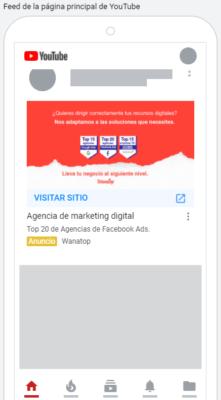 youtube discovery 2 Guía: anuncios de imagen en Google Ads 2021
